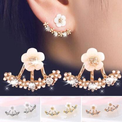 Ženski cvetlični uhani BeautyFlora