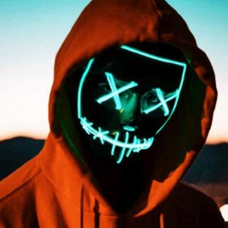 LED pustna maska