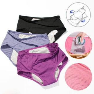 Nepremočljive menstrualne hlačke Culotte