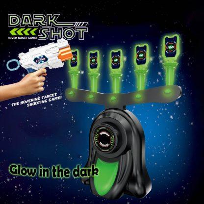 Strelska igra z lebdečimi žogami DarkShot
