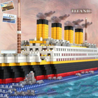 Komplet kock za sestavljanje Titanic