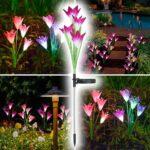 Dekorativni solarni cvetovi LilyFlow