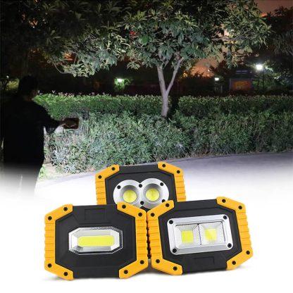 Prenosni mini LED reflektor Mega-Lux