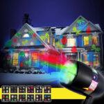 Zunanji LED projektor HolidayRhapsody
