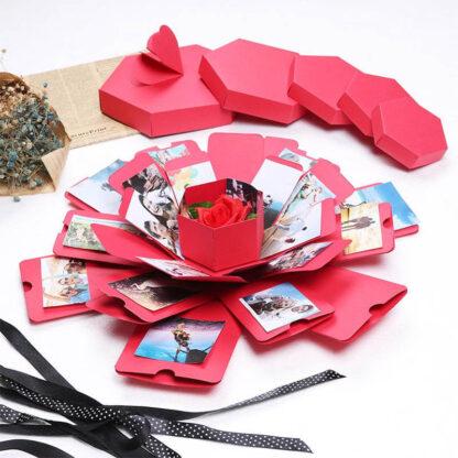 Eksplozijska darilna škatla JustForYou
