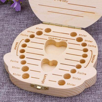 Spominska škatlica za zobke