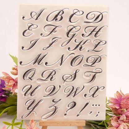 Slaščičarski set črk za kaligrafijo