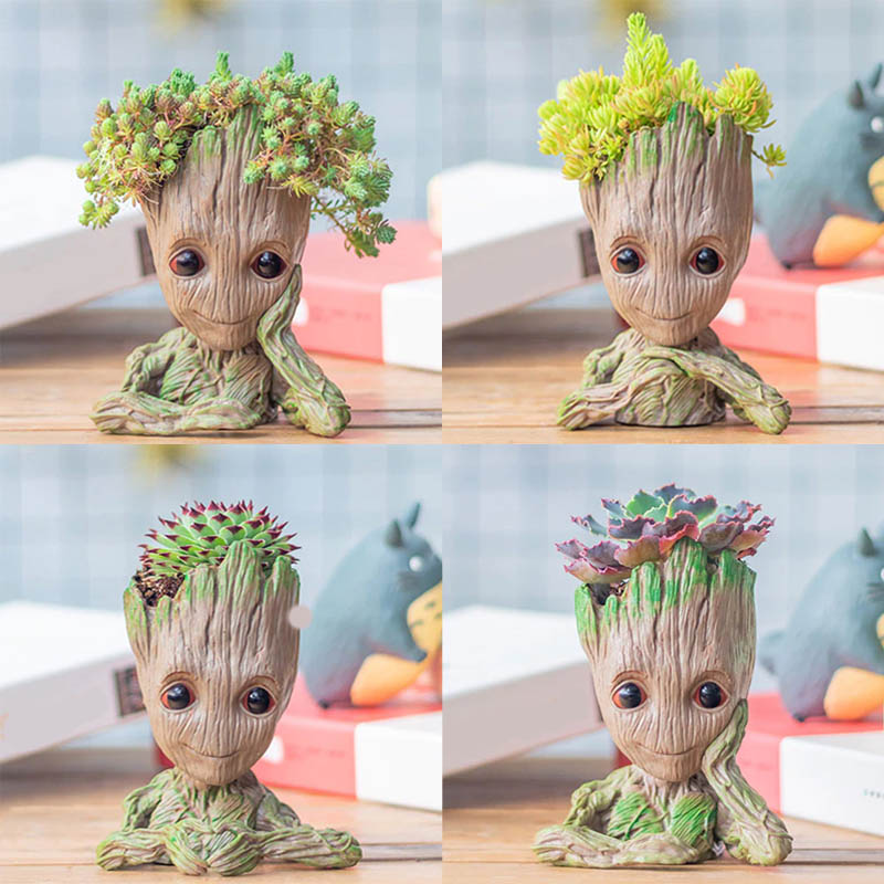 Ljubek cvetlični lonček Grooty