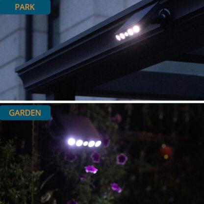 LED luč s senzorjem gibanja Solsense