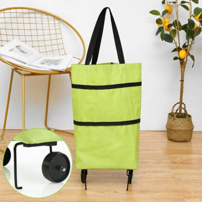 Zložljiva nakupovalna torba s kolesi