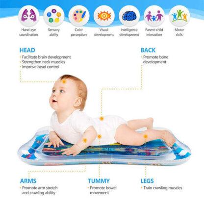 Otroška vodna igralna blazina Splashy