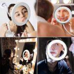 Ogledalo z lučko MirrorMag