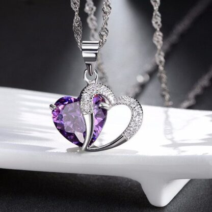 Verižica Kristalno Srce