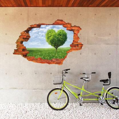3D dekorativna nalepka Sweet Escape