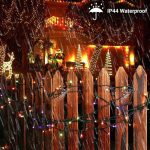 Set pametnih božičnih LED lučk