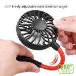 CoolPod prenosni ovratni ventilator
