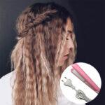 Mini likalnik za valovite lase HairWonder