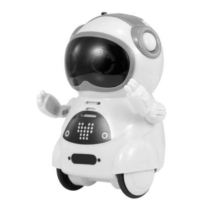Interaktiven žepni robotek MiniBot