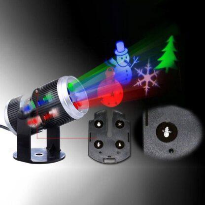 LED projektor za svetlobno dekoracijo