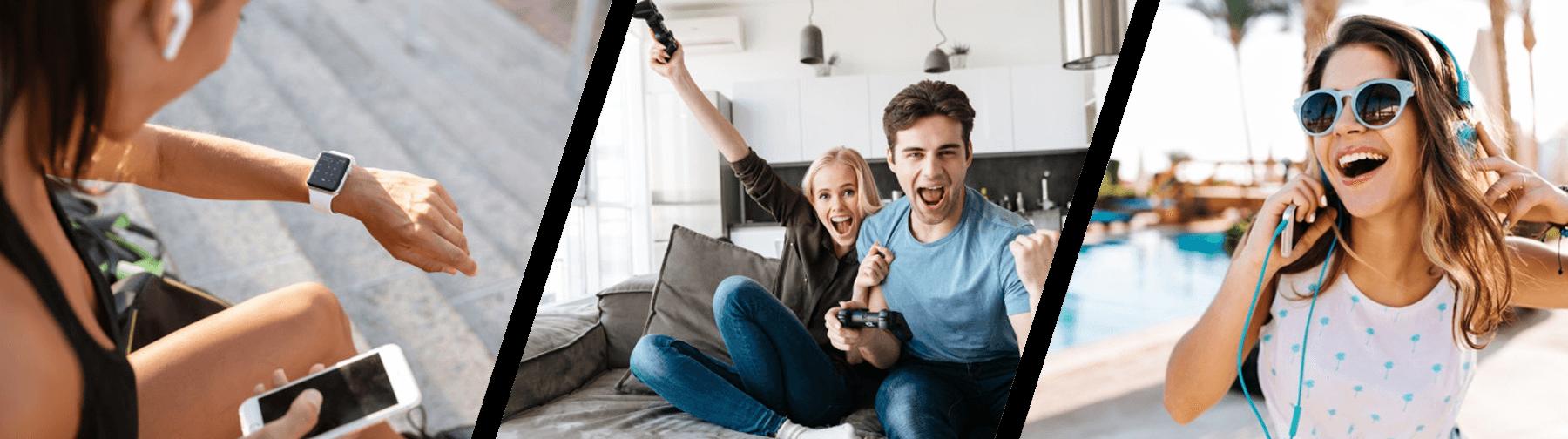 Smartwatch, ασύρματα ακουστικά, κάμερα, κάμερα ασφαλείας, κοντάρι για selfie και άλλες διασκεδαστικές ηλεκτρονικές συσκευές